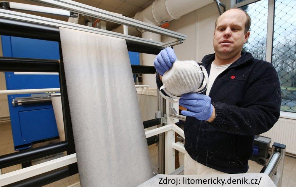 Pardam vyrobce nano respiratoru cesky vyrobce